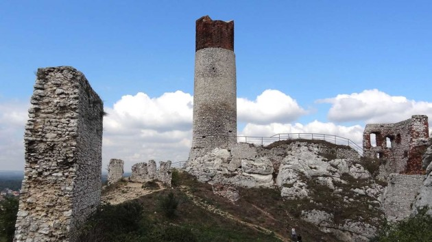 zamek w Olsztynie k. Częstochowy